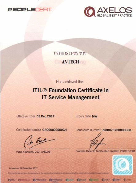 PeopleCert认证厂商介绍(ITIL,PRINCE2,COBITP3O认证) -- 第2张