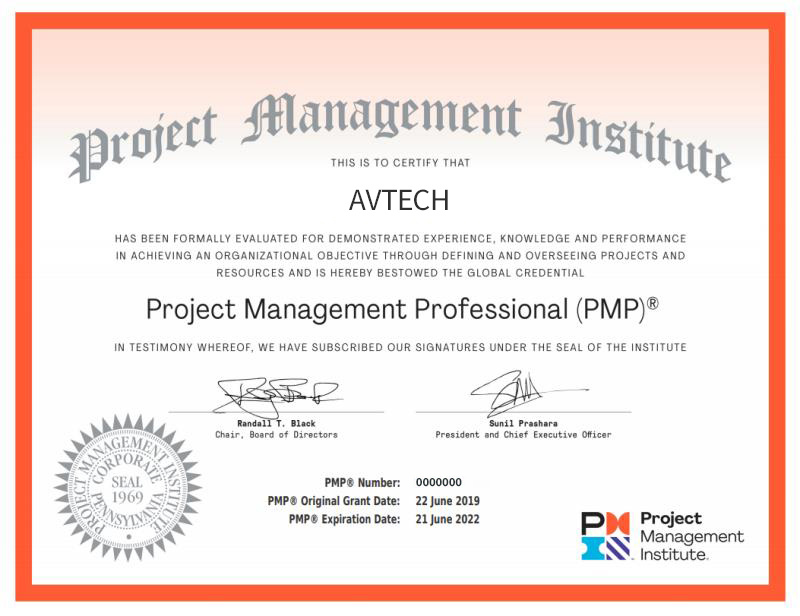 乌鲁木齐PMP证书是什么样子?含金量高吗? -- 第1张