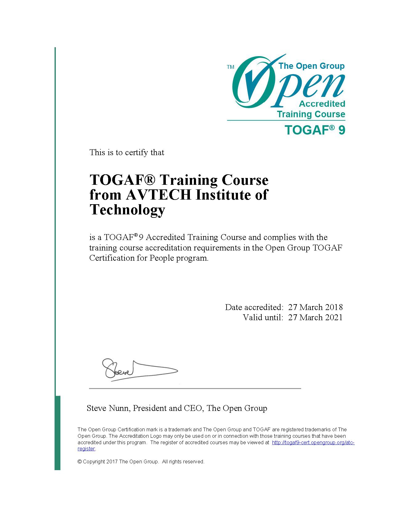 Togaf 9.2 企业架构认证(2/25班) -- 第9张