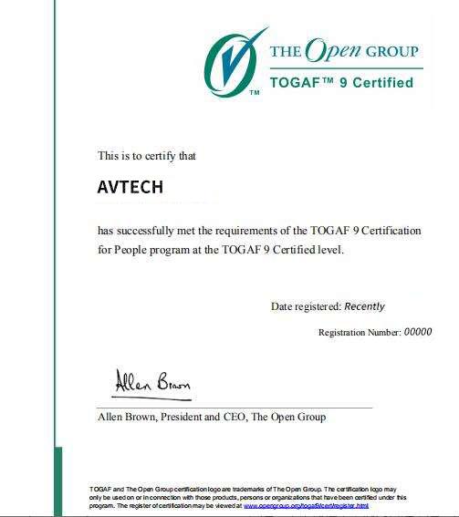 喜讯!恭喜来自Togaf 2005直播班的学员代月秋通过考试