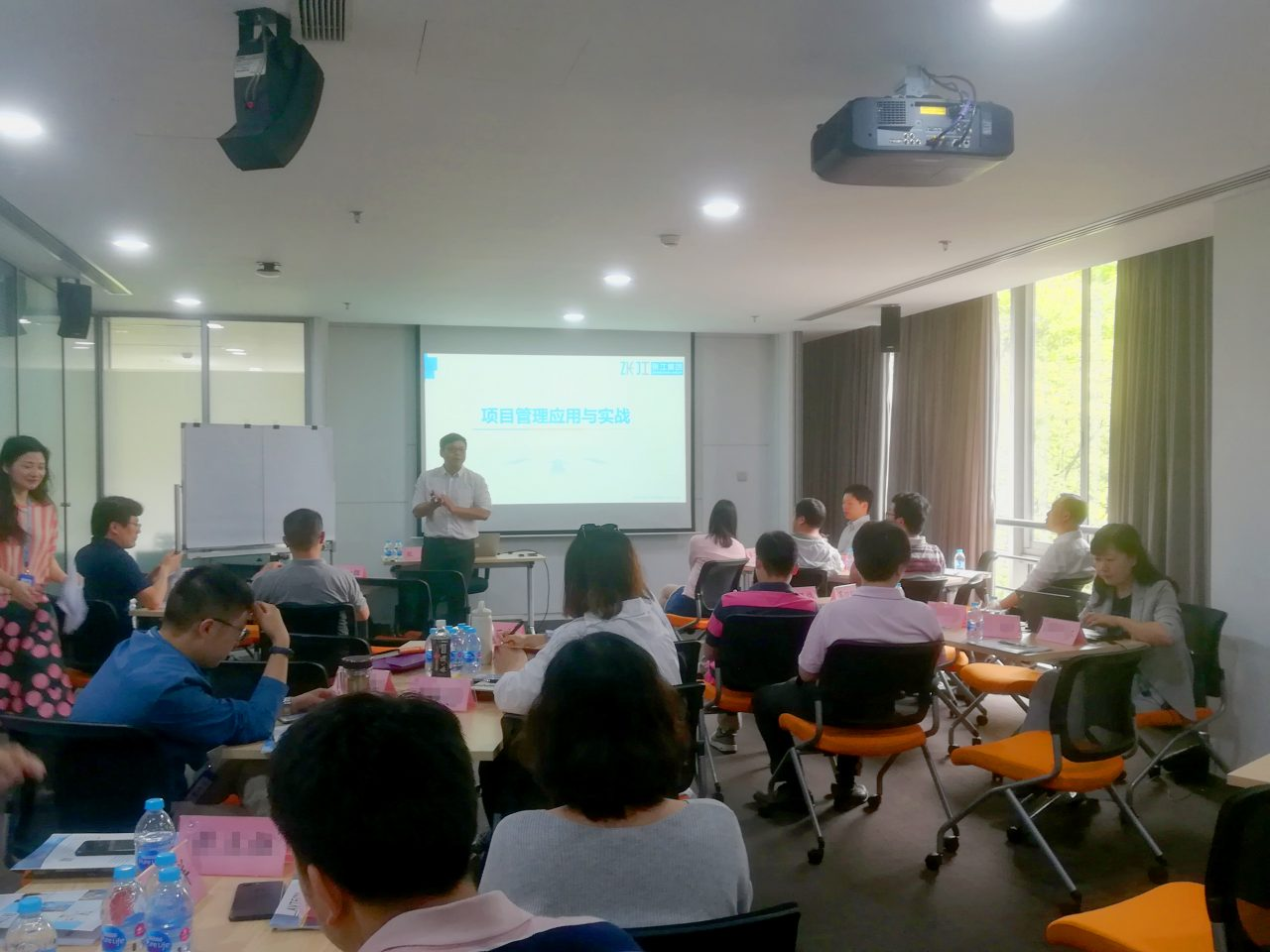强化项目管理能力,项目管理与应用实战培训于张江集团圆满结课