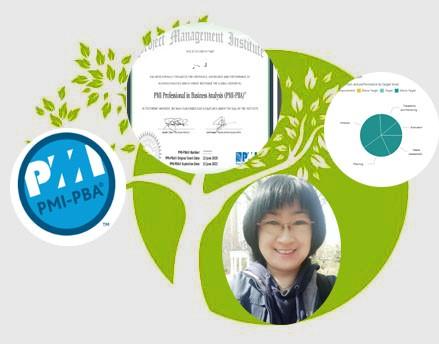 PMI-PBA认证培训学习感想 -- 第1张