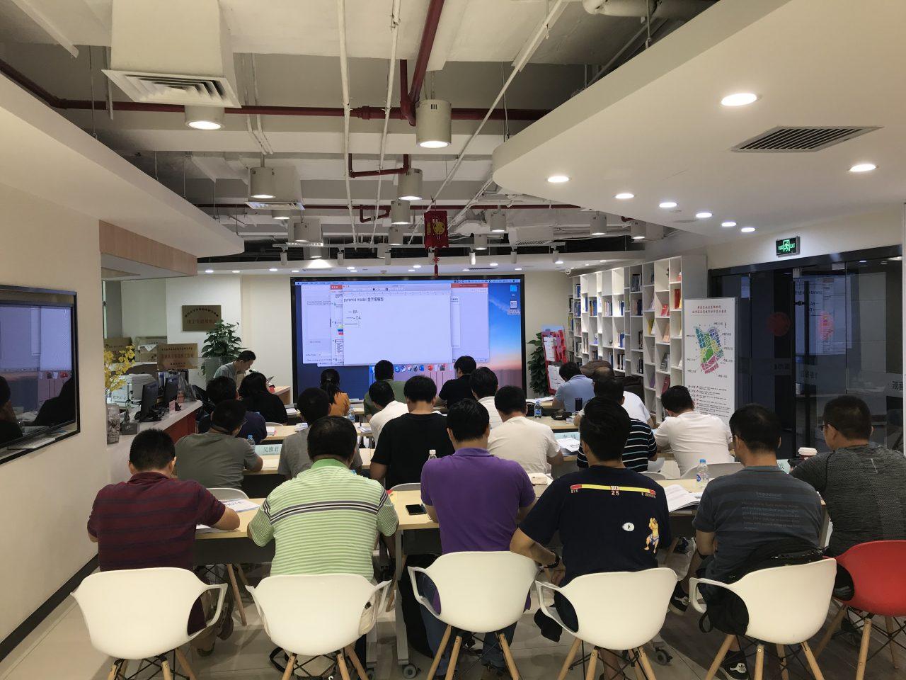 艾威第38期Togaf企业架构师培训班于上海成功展开!