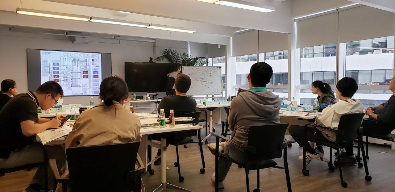 携手某互联网企业,PgMP项目集管理内训再次开班
